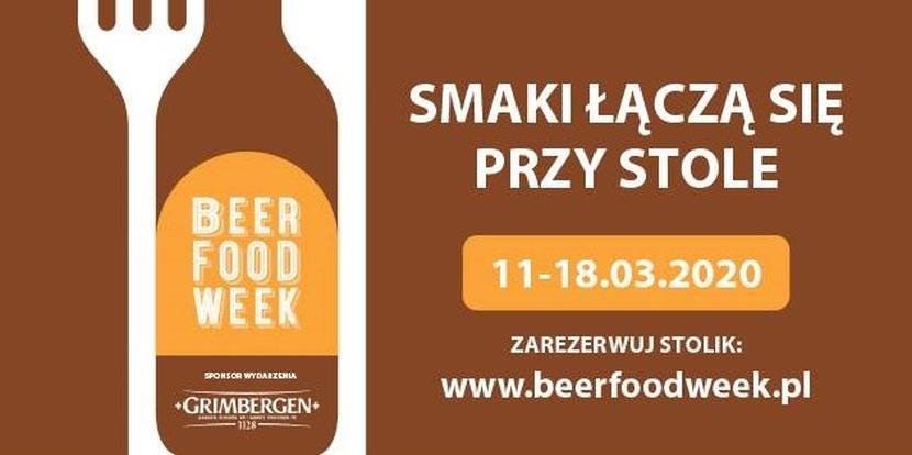 Beer Food Week marzec 2020
