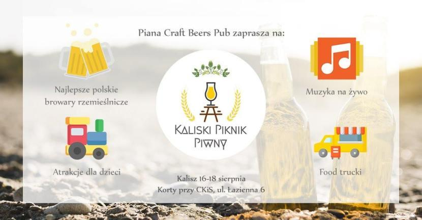 II Festiwal Piwa w Kaliszu