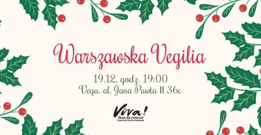 Warszawska Vegilia 19 grudnia